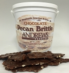Chocolate Pecan Brittle Specialty 1.5 Lbs.