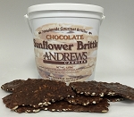 Chocolate Sunflower Brittle 1.5 Lbs.