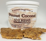 Peanut Coconut Brittle Specialty 3 lb. Bucket