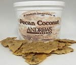 Pecan Coconut Brittle Specialty 3 lb. Bucket