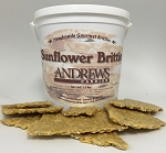 Sunflower Brittle Classic 1.5 lb. Bucket