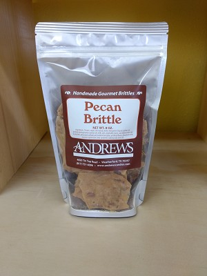Pecan Brittle Classic 8 oz. Bag